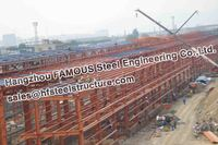 Pre-engineering Steel Building prefabricated in Structural Steel Fabrication Contractor