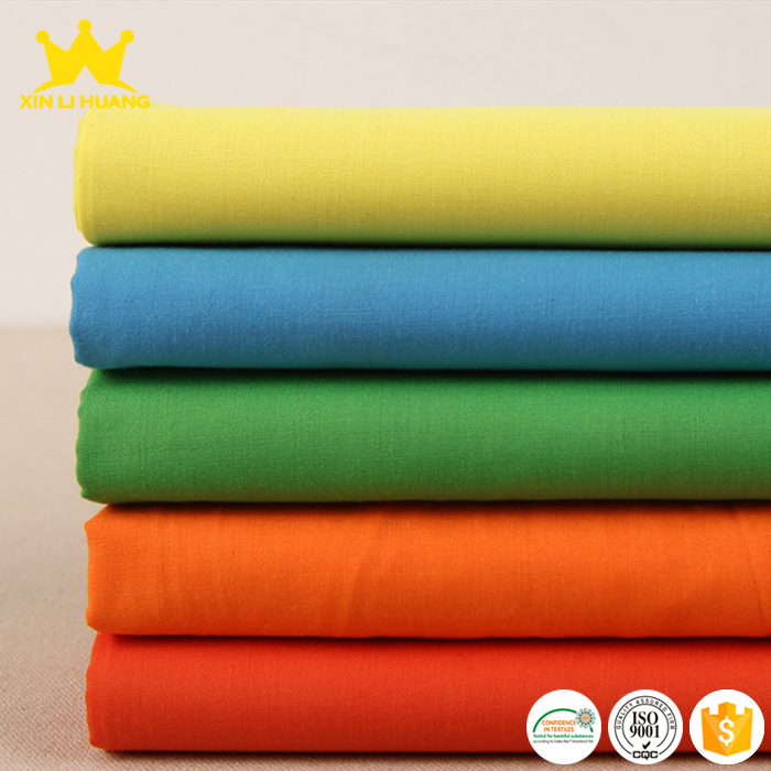 Factory Price Woven 80% Polyester 20% Cotton Blend Shirting Fabric