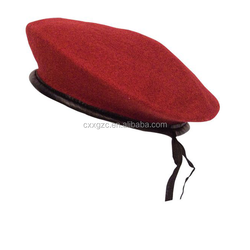 Customized Army Men's 100% Wool Military Beret in different color
