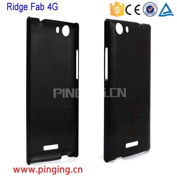 new product blank plastic pc hard back cover case for wiko ridge fab 4g