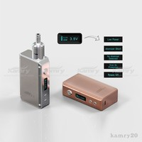 kamry mic usb charge high quality 0.3 ohm atomizer huge vapor kamry20 2014 latest dna 30 box mod clone