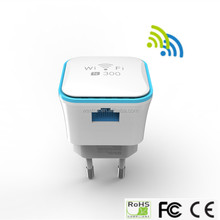 High Gain Wifi Amplifier Repeater 2.4GHz 300M Long Range Extender Mini Wireless Signal Booster EU Standard Network Router