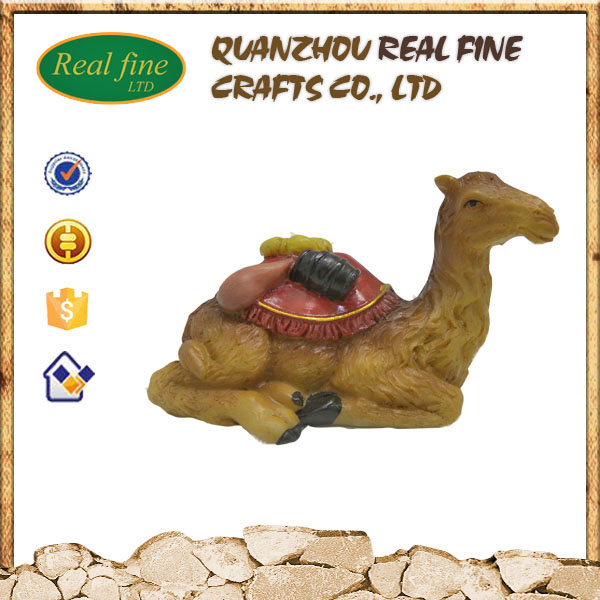 Wholesale custom resin camel statue for decoration
