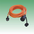 VDE KEMA GS certification euro waterproof rubber extension cord