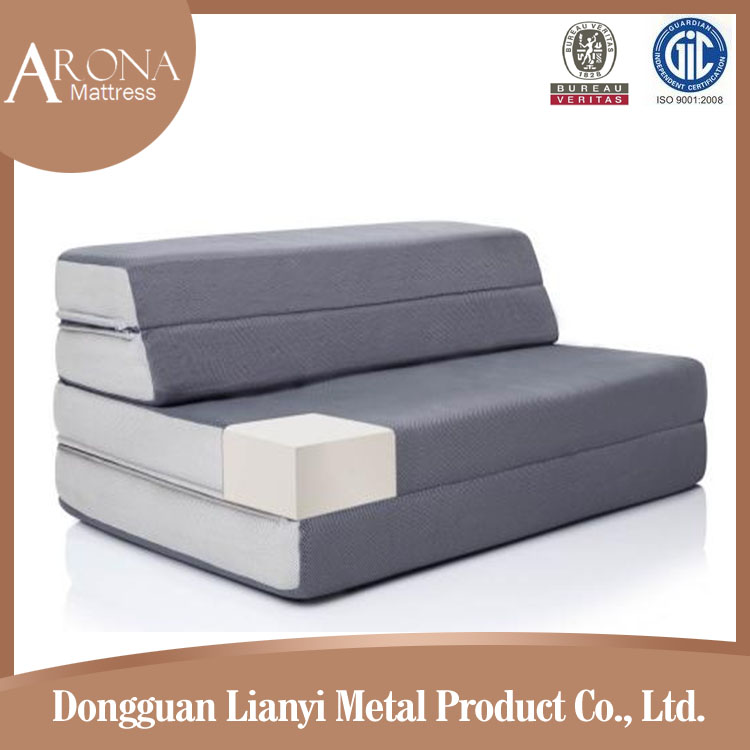 2015 new design folding mattress for sofa bed with flame for Sofa bed zippered mattress cover