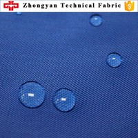 210D 100% polyester waterproof oxford fabric for backpack lining