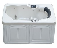 One person acrylic whirlpool outdoor spa hot tub