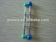 High quality personalized body piercing tongue ring