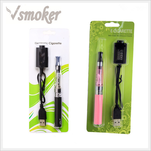 electronic cigarette free sample free shipping ego CE4 vape pen, ego ce4 blister kit e cigarette