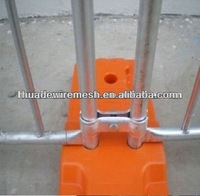 Mobile Fence Base,Galvanized Temporary Fence