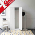Cheap Metal 2 Door Bedroom Wardrobe Steel Almirah Wardrobe