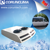 Rear passenger compartment AC unit, air conditioner for minibus/van
