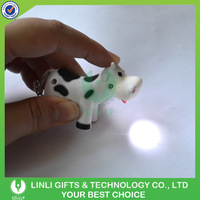 Animal Shape Promotional Led Light Up Keychains