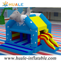 huale 5x4x4m commercial inflatable Dolphin combo with factory price