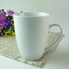 Wholesale cheap white ceramic cup porcelain mug stock