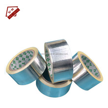 Silver High Temperature Resistence Solvent Aluminium Foil Adhesive Sealing Tape