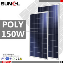 150w 160w 170w solar panel price free shipping from manufacturer china