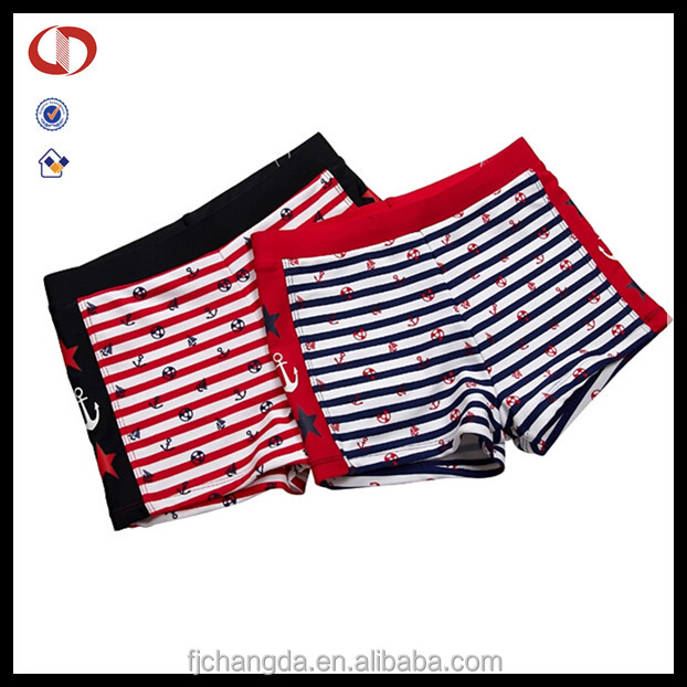 Custom design your own high quality lycra men boys swim trunks
