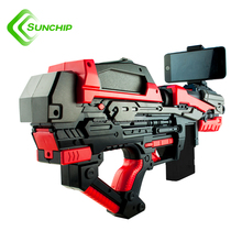 Ar sky 2017 new arrival mobile phone augmented reality 3D virtual shooting ar game toy gun