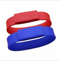 silicon usb flash memory usb flash driver wristbands
