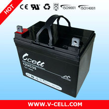 12V 35Ah photovoltaic battery storage