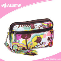Promotional scrawl beauty cosmetics bag makeup bag purse