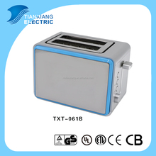 NEW Stainless Steel 2 Slice Toaster/Bread Toaster Machine/Electric Sandwich Toaster