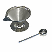 Stainless steel pour over dripper coffee filter and maker clever coffee dripper