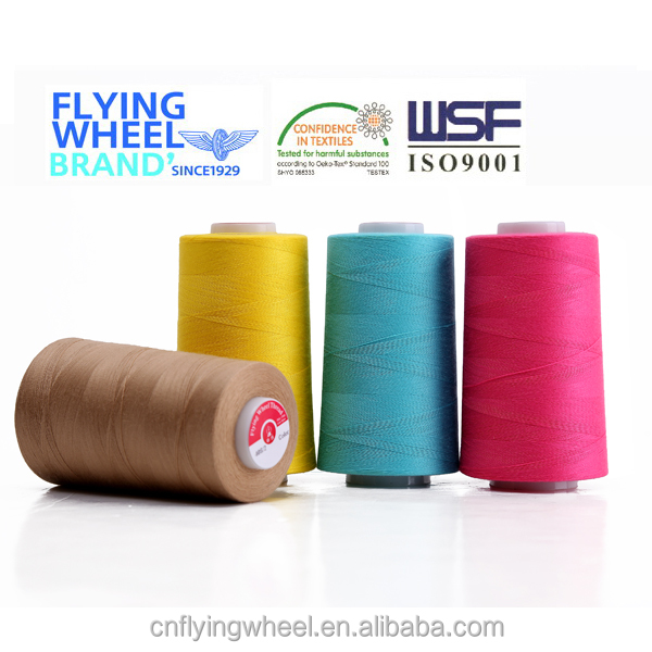 20S/4 Poly / Poly core spun thread sewing thread silicone oil