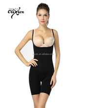 Hot Sale Slimming Full Female Body Suit with Open Crotch