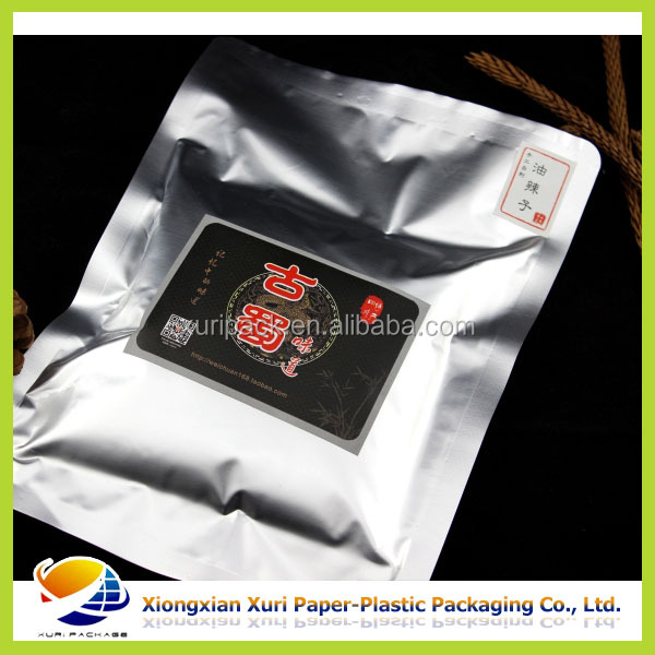 High barrier meat ball packaging plastic bag