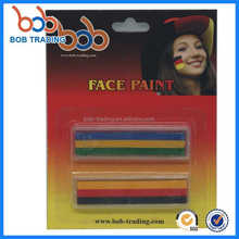 good service germany soccer fans Germany series face paint glow in the dark cheap face paint