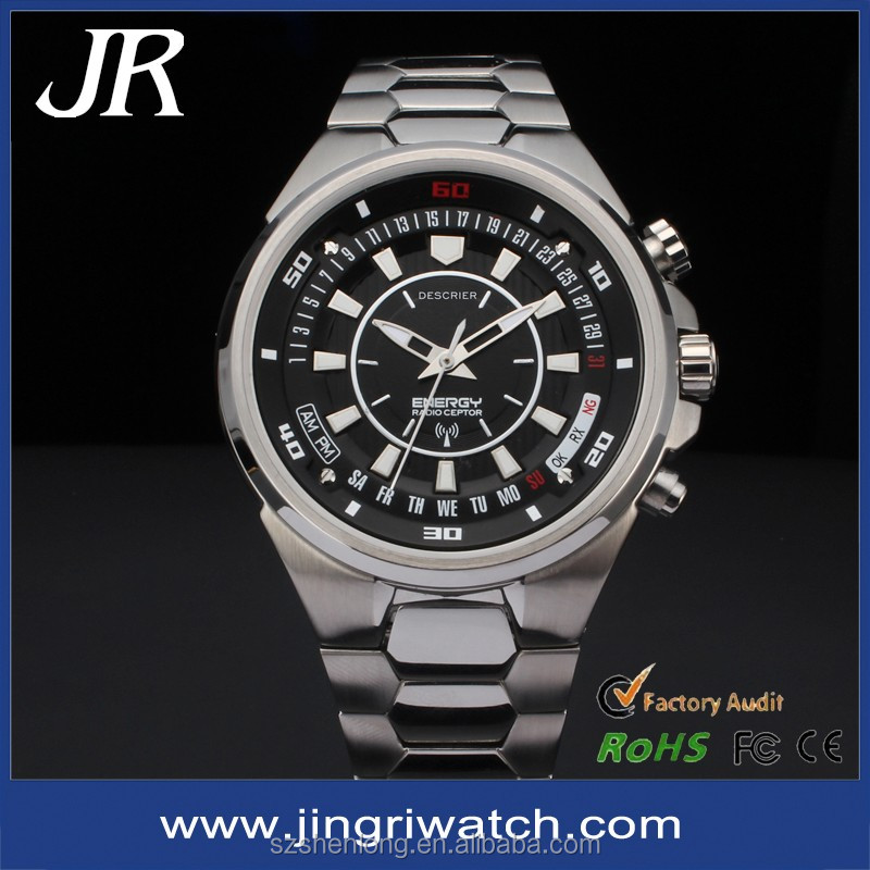 fashion design high quality custom swiss sapphire crystal men watches oem