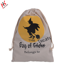 Niños Bolsa de Regalo de Algodón de Halloween Trick Or Treat Bags Wholesale Pop