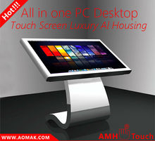 "32"" - 55"" touch kiosk cheap phone w/ interactive and aluminum housing design"