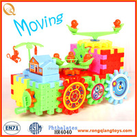 Promotional plastic jeep creative blocks toy for kids for kids BK8888002