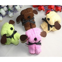 100% cotton Hot sale animal Cake dog towel