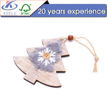 XL192 wooden laser cutting christmas decoration items