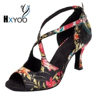 HXYOO Popular Soft Sole Salsa Dancing