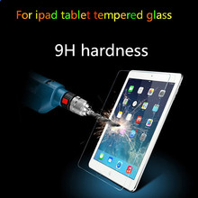 Ultra Thin Transparent Clear Anti Fingerprint Screen Protector for iPad 2 3 4 Tempered Glass