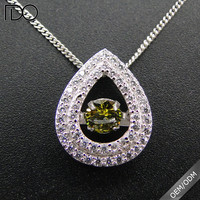 China professional manufacturer supply cz silver jewelry pendants
