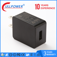 US EU standard 5V1A universal single usb wall charger for home and travel charger