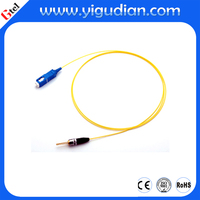 650nm 5mW laser diode module with SMF fiber