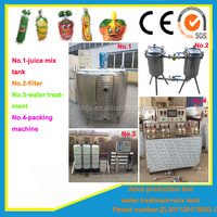 Factory 1Ton/hr juice jelly production line for small business