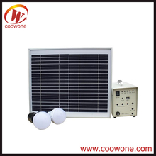 Stand Along mini solar project 10w home solar system for home lighting