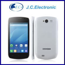 Original Doogee DG110 mtk6572 dual core Cell Phone android4.2 Smart Phone 4.0inch screen 512MB RAM 4GB ROM 5MP Camera GPS 3G