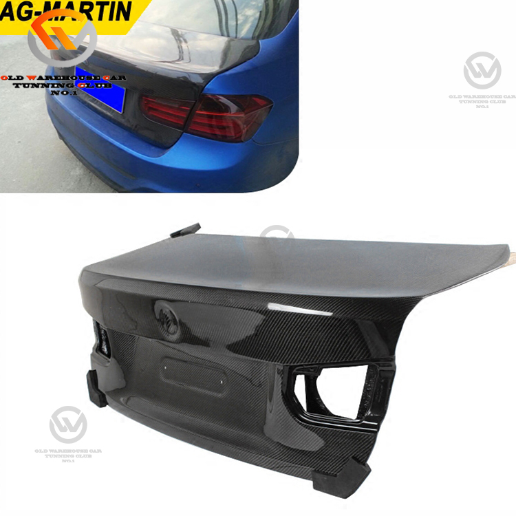 For 3 Series F30 Vacuum Carbon Fiber Trunk Lid Boot CSL Style