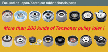 Tensioner pulley idler for Japan/Korea car
