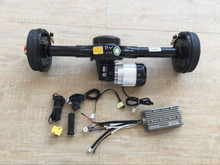 48v 1000w dc brushless motor and controller and rear axle for e richshaw