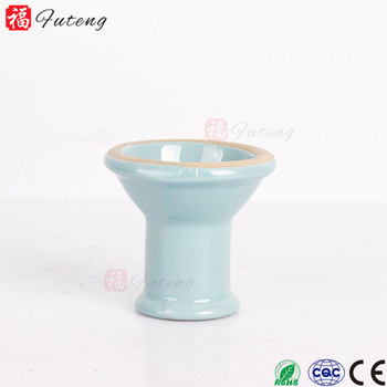 Futeng handmade nargila bowl shishal hookah head wholesale custom ceramic bowl